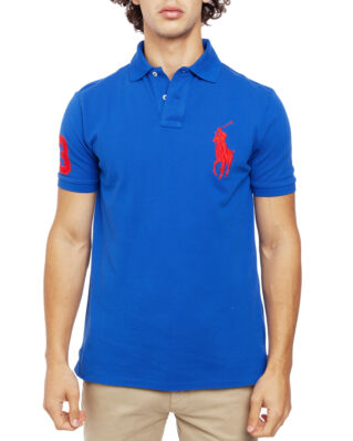 Polo Ralph Lauren Classic Short Sleeve Polo Blue Saturn