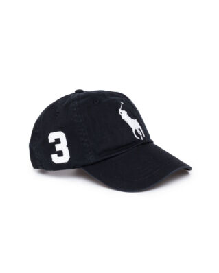 Polo Ralph Lauren Big Pony Classic Sport Cap RL Black