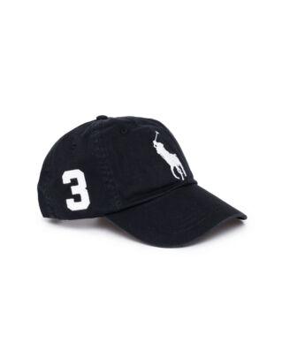 Polo Ralph Lauren Classic Sport Cap Black