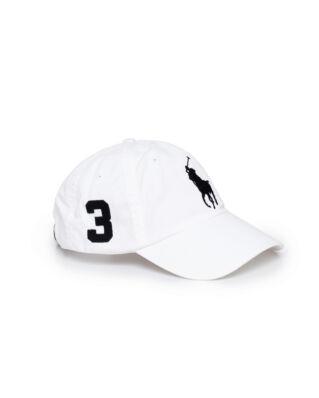 Polo Ralph Lauren Classic Sport Cap White