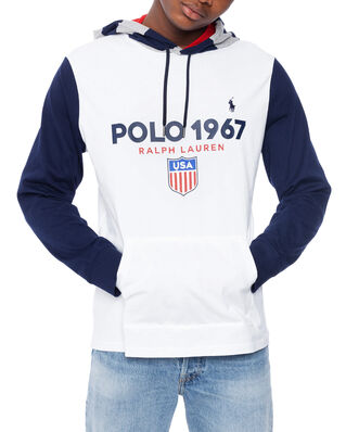 Polo Ralph Lauren Colour-Blocked L/S T-shirt White Multi