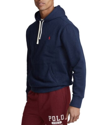 Polo Ralph Lauren Cotton Blend Fleece Hoodie Cruise Navy