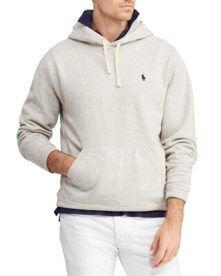 Polo Ralph Lauren Cotton Blend Fleece Hoodie Lt Sport Heather