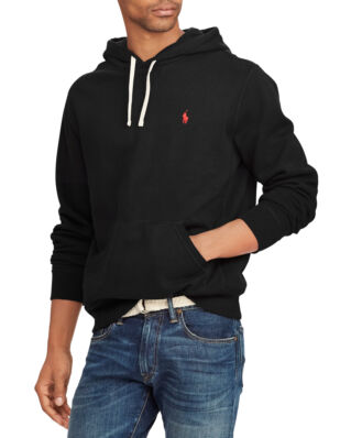 Polo Ralph Lauren Cotton Blend Fleece Hoodie Polo Black