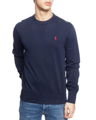 Polo Ralph Lauren Cotton Blend Fleece Sweatshirt Aviator Navy