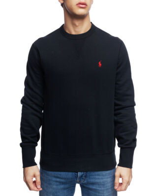 Polo Ralph Lauren Cotton Blend Fleece Sweatshirt Polo Black