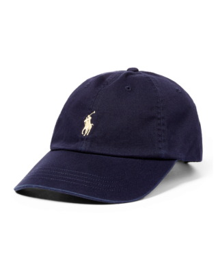 Polo Ralph Lauren Cotton Chino Baseball Cap Relay Blue