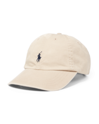 Polo Ralph Lauren Cotton Chino Baseball Cap Nubuck