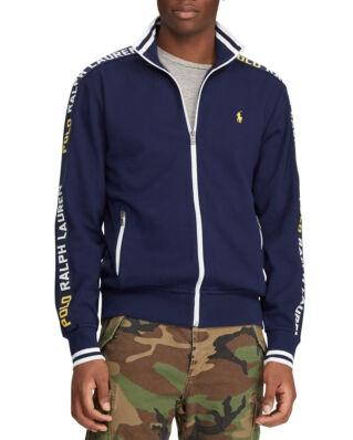 Polo Ralph Lauren Cotton Interlock Track Jacket French Navy