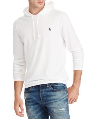 Polo Ralph Lauren Cotton Jersey Hooded T-Shirt White/Navy PP