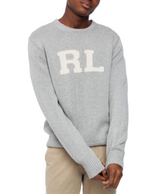 Polo Ralph Lauren Cotton Long Sleeve Sweater Andover Heather