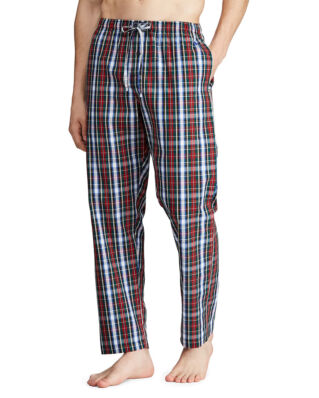 Polo Ralph Lauren Cotton Sleep Trouser William Plaid