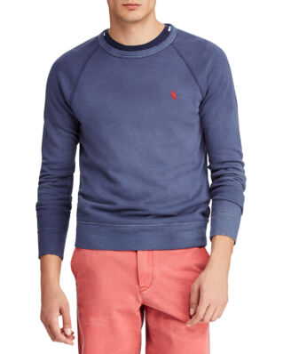 Polo Ralph Lauren Cotton Spa Terry Sweatshirt Cruise Navy