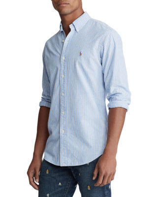 Polo Ralph Lauren Custom Fit Striped Shirt Blue/White Multi
