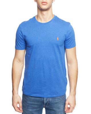 Polo Ralph Lauren Custom Slim Crewneck T-Shirt Dockside Blue Heather