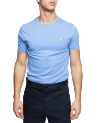 Polo Ralph Lauren Custom Slim Fit Cotton T-Shirt Harbor Island Blue