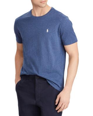 Polo Ralph Lauren Custom Slim Fit Cotton Tee Derby Blue Heather