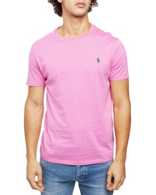 Polo Ralph Lauren Custom Slim Fit Cotton Tee Maui Pink