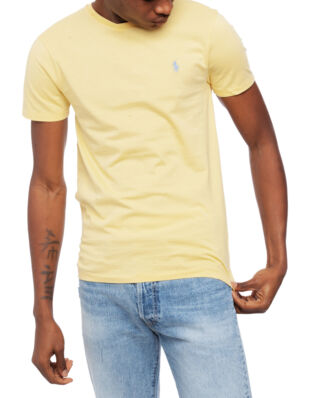 Polo Ralph Lauren Custom Slim Fit Cotton Tee Yellow