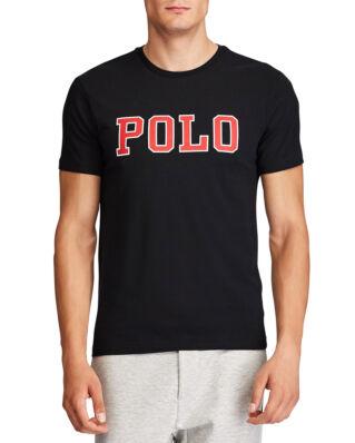 Polo Ralph Lauren Custom Slim Fit Graphic Tee Polo Black