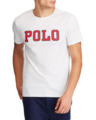 Polo Ralph Lauren Custom Slim Fit Graphic Tee White