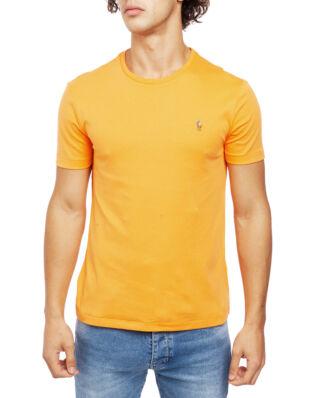 Polo Ralph Lauren Custom Slim Fit Interlock Tee Thai Orange