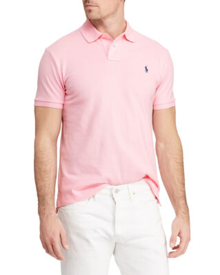 Polo Ralph Lauren Custom Slim Fit Mesh Polo Carmel Pink