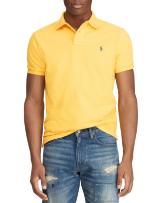Polo Ralph Lauren Custom Slim Fit Mesh Polo Chrome Yellow