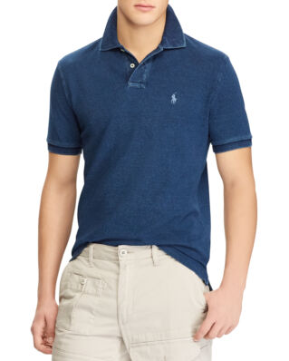 Polo Ralph Lauren Custom Slim Fit Mesh Polo Dark Indigo