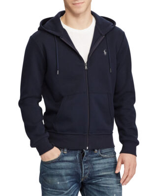 Polo Ralph Lauren Double Knit Full-Zip Hoodie Aviator Navy