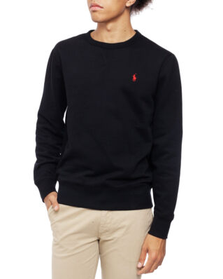 Polo Ralph Lauren Fleece Crewneck Sweatshirt Polo Black