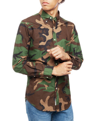 Polo Ralph Lauren Long Sleeve BD Sport Shirt 2791A Camo Print