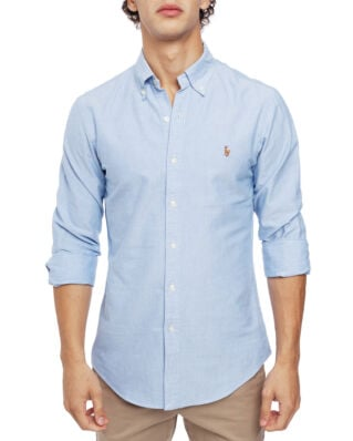 Polo Ralph Lauren Long Sleeve Cotton Sport Shirt Blue