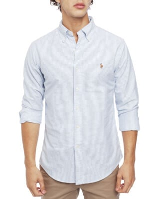 Polo Ralph Lauren Slim Fit Oxford Sport Shirt BSR Blue/White