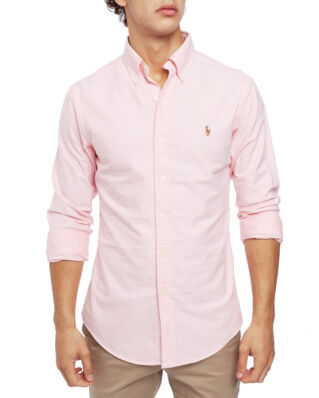 Polo Ralph Lauren Long Sleeve Cotton Sport Shirt Pink