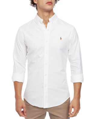 Polo Ralph Lauren Long Sleeve Cotton Sport Shirt White
