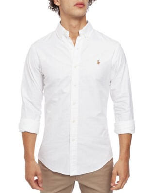 Polo Ralph Lauren Slim Fit Oxford Shirt BSR White