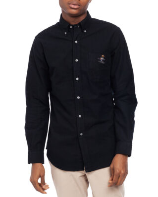 Polo Ralph Lauren Long Sleeve Holiday Sport Shirt Polo Black