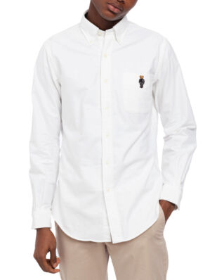 Polo Ralph Lauren Long Sleeve Holiday Sport Shirt White