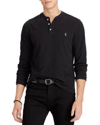 Polo Ralph Lauren Long Sleeve Knit Polo Black