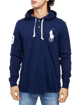 Polo Ralph Lauren Long Sleeve Polo Hoodie Newport Navy
