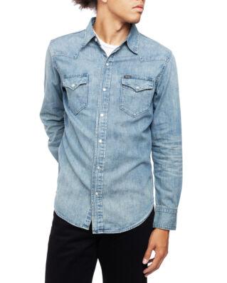 Polo Ralph Lauren Long Sleeve Sport Denim Shirt Rl Western