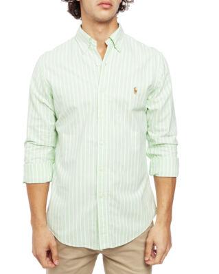 Polo Ralph Lauren Long Sleeve Sport Shirt 3039D Avocado/White