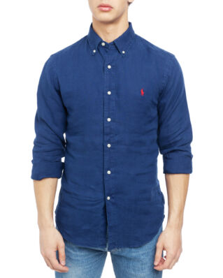Polo Ralph Lauren Long Sleeve Sport Shirt Holiday Navy