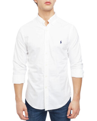 Polo Ralph Lauren Long Sleeve Sport Shirt White