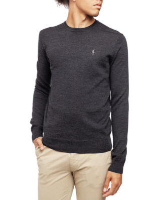 Polo Ralph Lauren Long Sleeve Sweater Dark Granite Heather