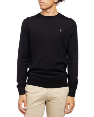 Polo Ralph Lauren Long Sleeve Sweater Polo Black