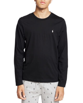 Polo Ralph Lauren L/S Crew Sleep Top Polo Black