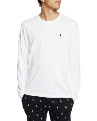 Polo Ralph Lauren L/S Crew Sleep Top White