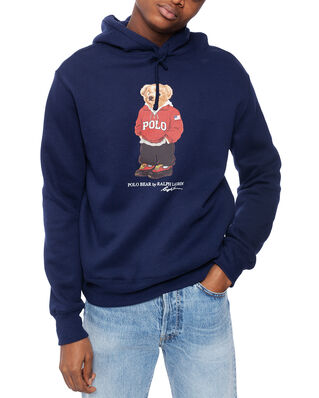 Polo Ralph Lauren Magic Fleece Bear Hood Cruise Navy